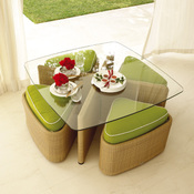 Gloster_sushi_low_table_stools